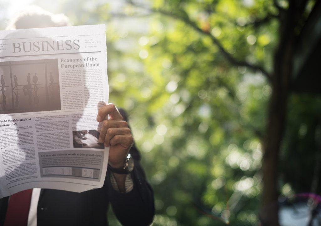 pisanie artykułów i gazeta