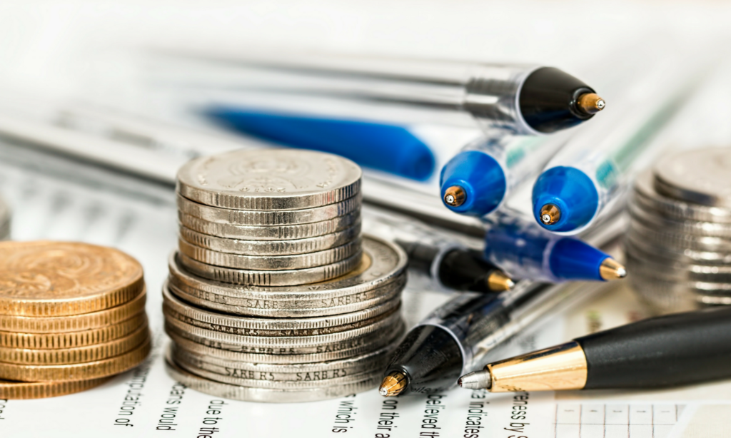 długopisy i monety pisanie na zlecenie