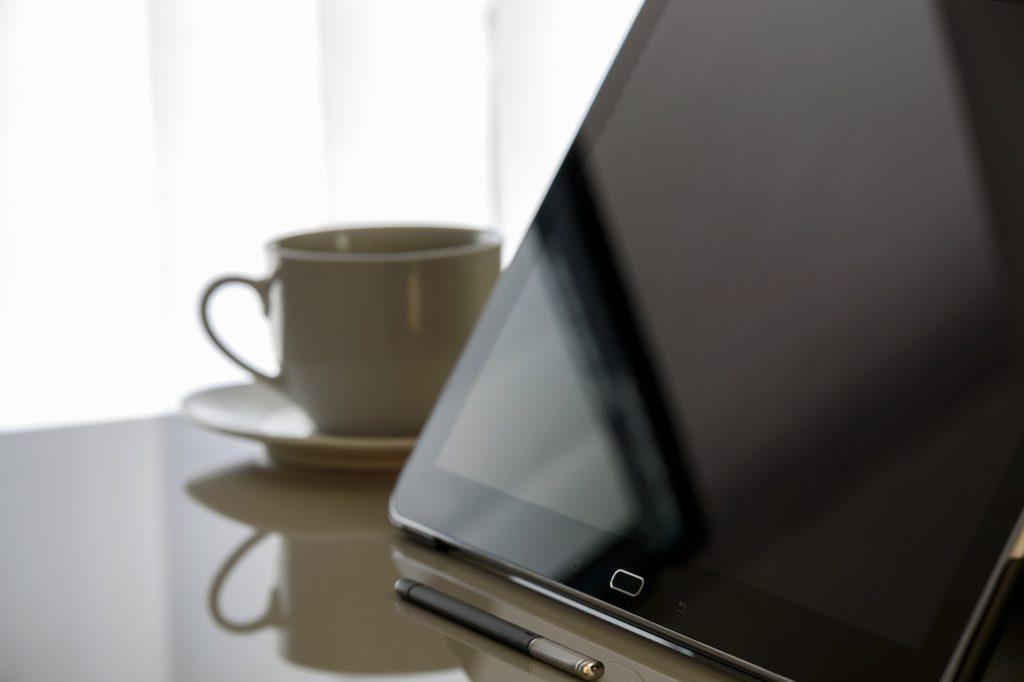 tablet kawa i seo dla początkujących