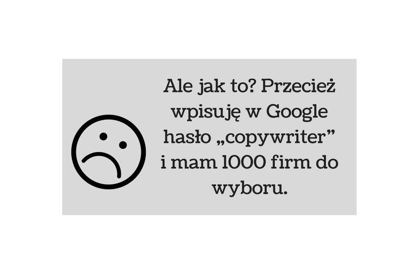 Obraz przedstawiający, jakie wątpliwości mogą mieć firmy przed zatrudnieniem copywritera.