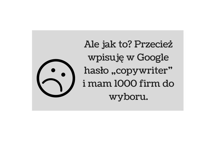 copywriter a komercyjne firmy