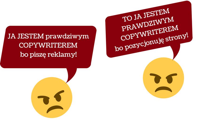 copywriter konflikt o definicję