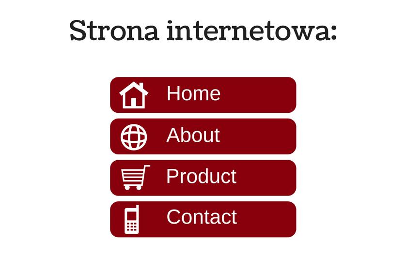 strona internetowa a content marketing