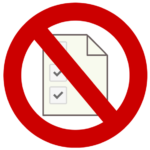 Obraz przedstawiający, że należy unikać ofert dodatkowej pracy w domu, która polega na wypełnianiu ankiet.