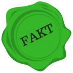 pisanie bloga - obraz przedstawiający, że podana informacja to fakt