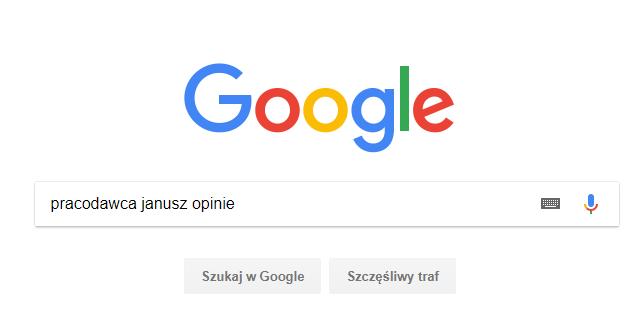 praca przez internet bezpieczeństwo - jak sprawdzić pracodawcę w Google