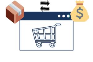 obraz przedstawiający że wybieranie przesyłki za pobraniem zwiększa bezpieczeństwo zakupów