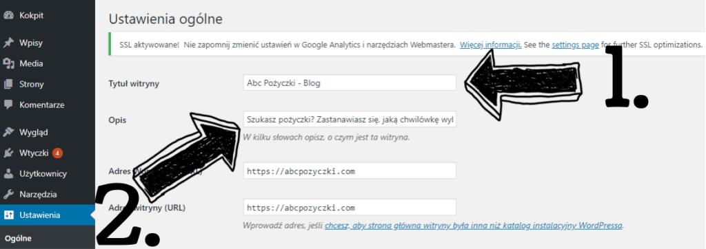 Obraz przedstawiający jak zacząć prowadzić bloga poprzez prawidłowe ustawienia programu WordPress.