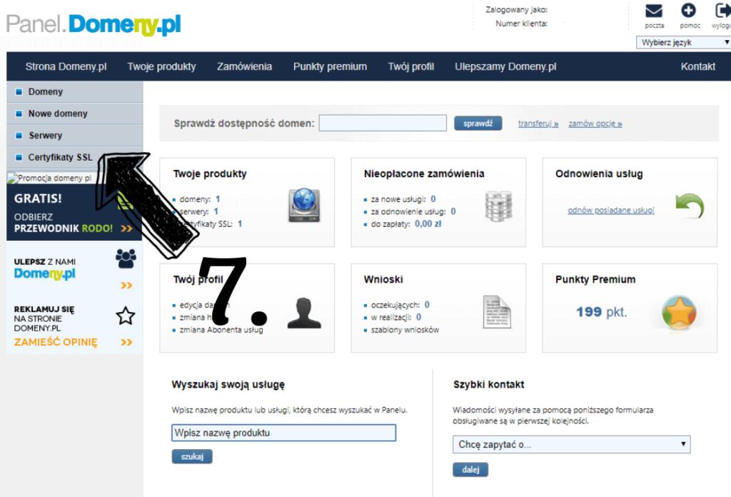 Obraz przedstawiający jak założyć bloga z certyfikatem SSL.