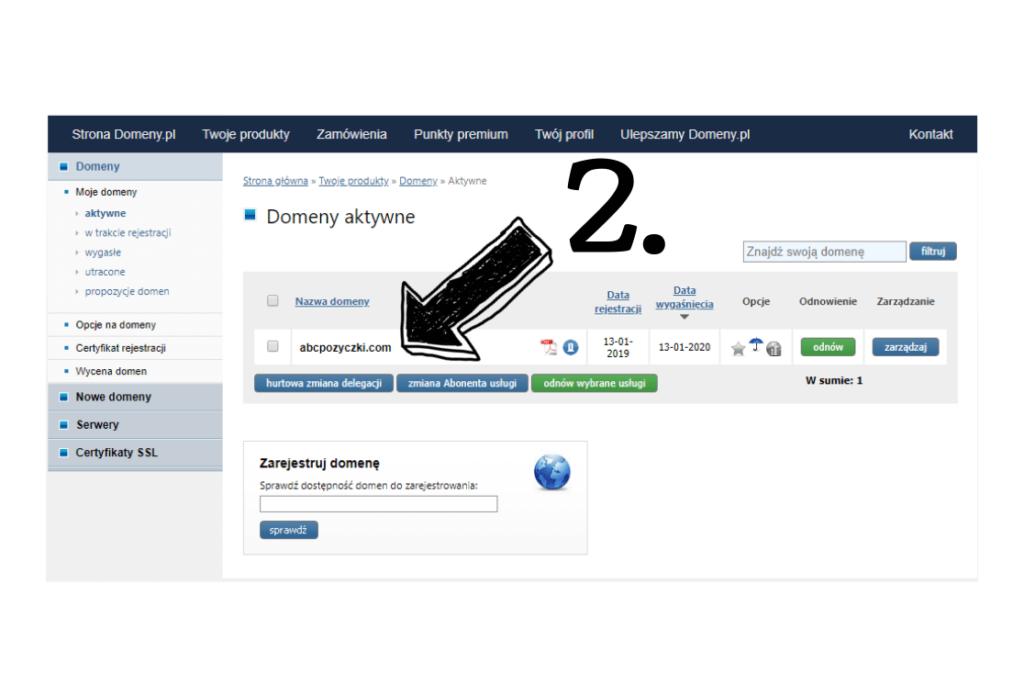 Obraz przedstawiający jak założyć bloga poprzez powiązanie domeny z serwerem.