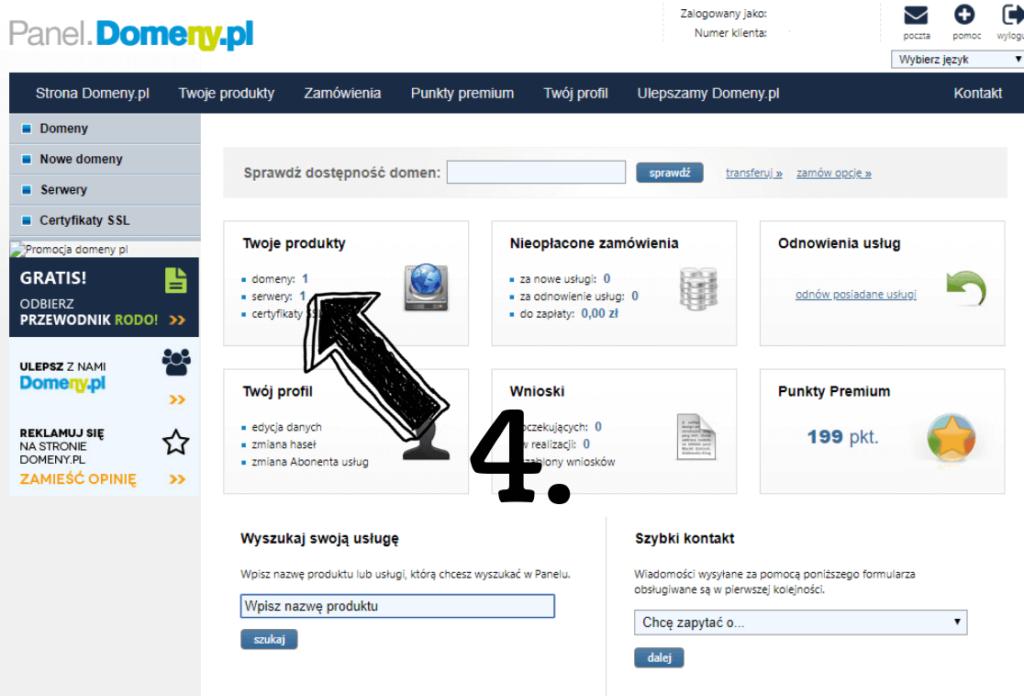 Obraz przedstawiający jak założyć bloga z wykorzystaniem profesjonalnego adresu e-mail.