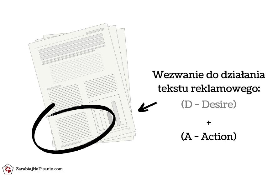 Obraz przedstawiający jak napisać reklamę produktu z wykorzystaniem skutecznego wezwania do działania (CTA).