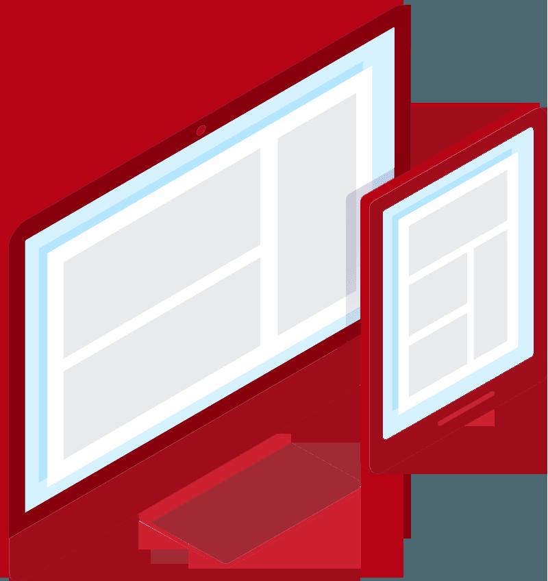 Ikona przedstawiająca jak wygląda kurs copywritingu.