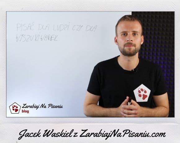 Obraz przedstawiający Jacka Waśkiela autora ebooka o copywritingu.